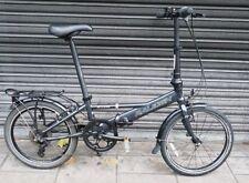 "Raleigh Access Folding Bicycle 20"" Wheel Commuter City Bike Mudguards Rack"