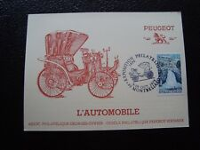 FRANCE - carte 9-10/10/1976 (montbeliard) (B12) french