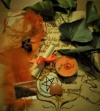 Lose Weight Spell Kit  Ritual Magic  Witchcraft Wicca Pagan Handmade Candle