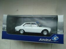 NEW MINIATURE SOLIDO  PEUGEOT 504 BLANCHE BERLINE 1/43  REF S4302100
