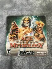 Age Of Mythology Game Of The Year Pc Cd-Rom Microsoft 2002 w/ key