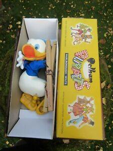 Pelham Puppet Walt Disney Donald Duck Near Mint Condition Boxed