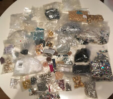 LARGE JOB LOT OF BEADS / SEQUINS /CRAFT JEWELS  CRAFTING /CRAFT PROJECTS 4.6KG!!
