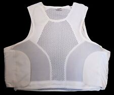 More details for hawk white covert body armour bullet proof stab vest for security grade a