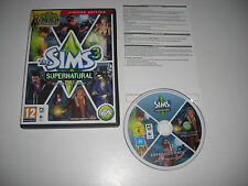 THE SIMS 3 SUPERNATURAL Limited Edition Add-On Expansion Pack Pc DVD Rom / MAC