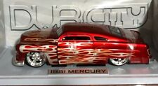 JADA DUB CITY 1951 MERCURY RED WITH FLAME 1:18 CC