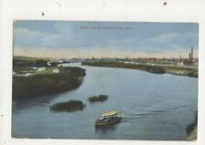Moose Jaw River Moose Jaw Sask Vintage Postcard Canada 609a