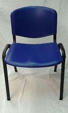 Sedia da Ufficio in PLASTICA Fissa da Conferenza NUOVA Sala Attesa Riunione