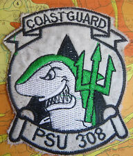 PSU 308 - Patch - US COAST GUARD - TRIDENT - Port Support - Vietnam War - 5304