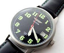 POLJOT AVIATOR Mechanical Military Wrist Watch Rare Russian