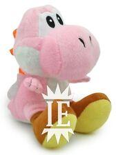 SUPER MARIO BROS. YOSHI ROSA PELUCHE 17 CM PUPAZZO plush pink doll rose new wii
