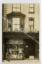 (Lh4181-544) RP, J W Allerston, Hairdressing Salon, Bridlington, 1910 Used VG
