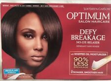Softsheen Carson Optimum Salon Haircare Defy Breakage No-Lye Relaxer Kit Regul