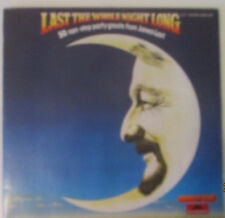 "12"" DOUBLE LP JAMES LAST ""Last the Whole Night Long"" signifiant 1979"