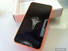 Nokia Lumia 630 3G Smartphone 4,5 Zoll - DEFEKT, DISPLAYBRUCH, NOT OK, LESEN