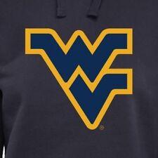 West Virginia Mountaineers Womens Ladies Pullover Hoodie - Navy Blue Size L