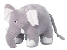 "Anna Club Plush Soft/Stuffed/Plush Velvet-feel Elephant 12""/30cm, 22.193 BNWT"