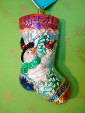 Christopher Feathered Friends Stocking
