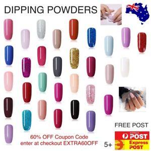 Dipping Powder Nicole Diary 10ml POT SNS Xmas Nail Art Colour Shimmer Manicure