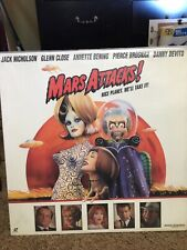Mars Attacks! Laserdisc Wide Screen Edition In Great Shape