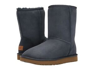 NEW WOMEN BOOT UGG CLASSIC SHORT II NAVY BLUE 1016223 ORIGINAL SIZE 10 NWOB