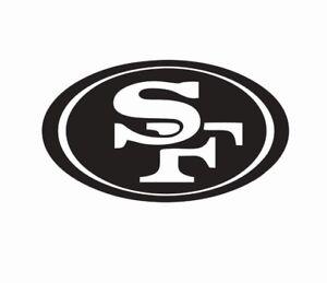 San Francisco 49ers NFL Football Vinyl Die Cut Car Decal Sticker - FREE SHIPPING