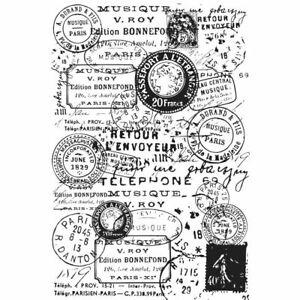 Kaisercraft Postmarks Cling Stamp Set