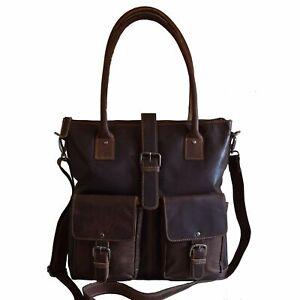 NEW Women Real Leather Handbag Shoulder Bag Tote Travel Business Casual Formal