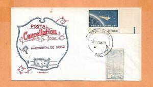 GEMINI 8 LAUNCH MAR 16,1966 HARRINGTON DE ARTOPAGES SPACE COVER