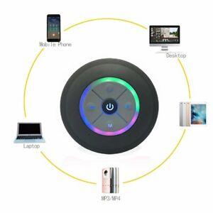 Bluetooth Speaker Wireless Waterproof Shower Resistant Portable Mic (102)