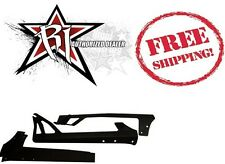 "Rigid Industries 50"" LED Light Bar Upper Windshield Mounting Brackets For JK"