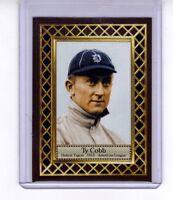 Ty Cobb '12 Detroit Tigers batting champion, Fan Club serial numbered /300