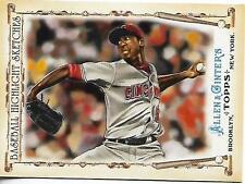 2011 Topps Allen & Ginter's BHS Aroldis Chapman rookie card, New York Yankees