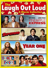 NEW! ~ 4 MOVIES: Pineapple Express + Superbad + Year One + Youth in Revolt DVD