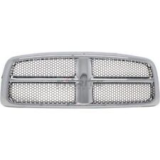Front Grilles Chrome Frame CH1200268 For 2002-2005 Dodge Ram 1500