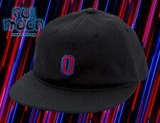 New Obey Russell Black Mens Flexfit Cap Hat
