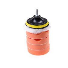 7Pcs 4 polir Pad voiture polissage Kit roue tampon Drill adaptateur BB