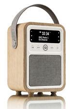 VQ Monty DAB + Radio Numérique with FM, Bluetooth & Alarme Clock-Oak