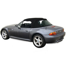 BMW Z3 Convertible Top in Black Stayfast Cloth with Plastic Window