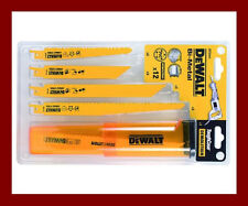 Dewalt DT2441 Reciprocating Recip Saw Sawzall 12 Piece Blade Set Wood PVC Metal