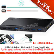 TP-Link USB 3.0 7-Port Hub with 2 Charging Ports for Smartphone and Tablets UK