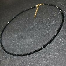 Gothic Punk Black Crystal Clavicle Collar Choker Necklace Women Charm Jewellery