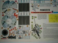 Space probe Pioneer 10 Czechoslovak rare Paper Model