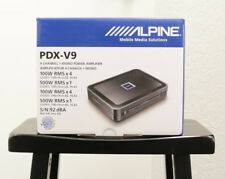 *NEW* ALPINE® PDX-V9 900W RMS, 5-CHANNEL CLASS-D CAR AUDIO AMPLIFIER AMP PDXV9