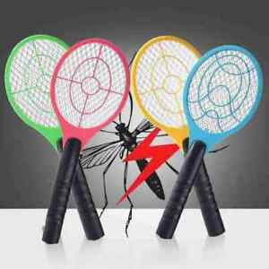 Electric Mosquito Fly Swatter Handheld Zapper Killer Bug Pest Insect Wasp Racket