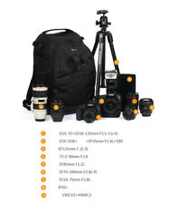 Lowepro Flipside 500 AW Pro DSLR Camera Bag Backpack Case with All Weather Cover