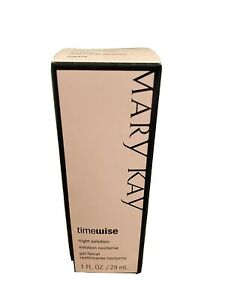 Mary Kay Timewise Night Solution Dry - Oily Skin Wrinkles Oil Free 1 oz 29 mL