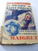 le pendu de saint-pholien , georges simenon ,commissaire maigret (car04)-