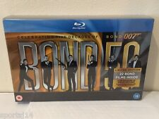 Bond 50: The Complete 22 Film Collection Blu-Ray 23 Disc Set UK Import James