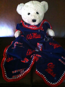 Ole Miss Rebels Fleece Blanket/ Ole Miss Baby Blanket/Rebels Fleece Baby Blanket
